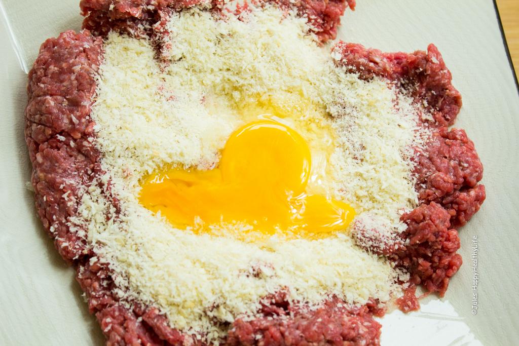 Minced meet for meatballs - Jules HappyHealthyLife Food Blog