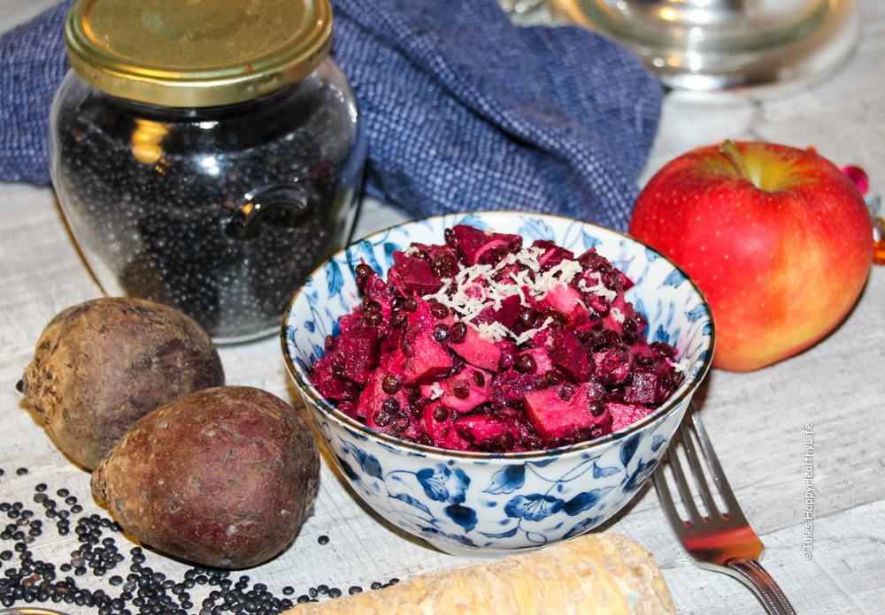 Rote Beete Salat mit frischem Meerrettich - JulesHappyHealthyLife Food Blog