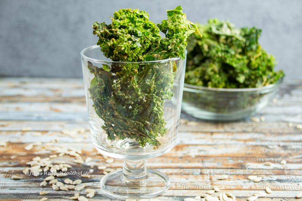 Miso Kale Chips gluten-free & vegan
