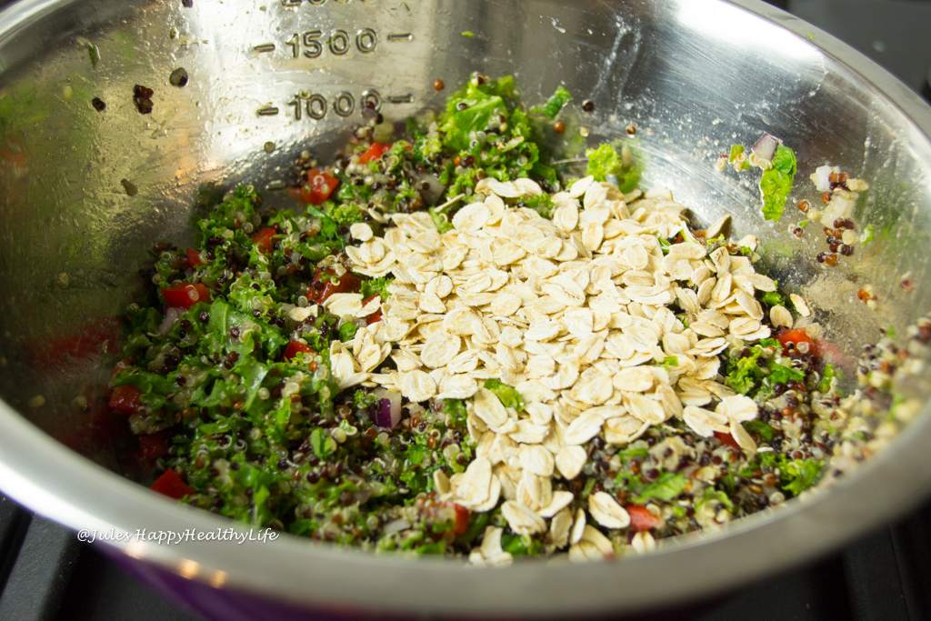 Mischung für Quinoa Grünkohl Fritters glutenfrei