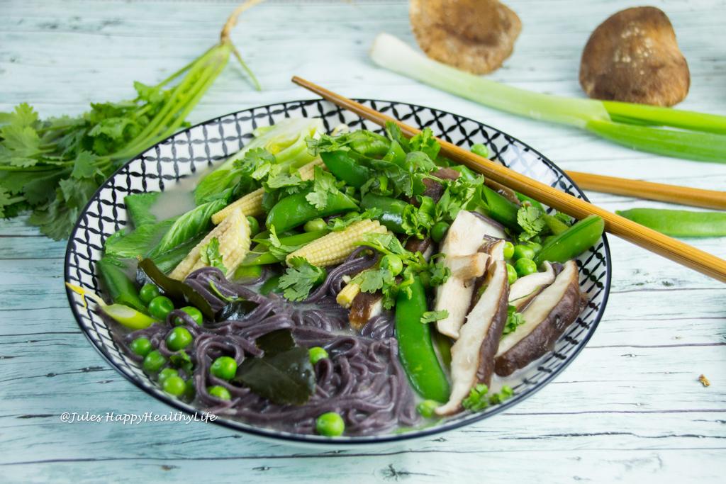 Rezept für glutenfreie Tom Kha Gai Kokosnusssuppe