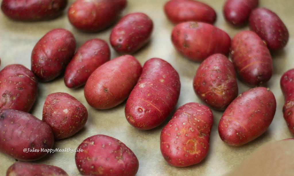 Good quality potatoes for cheesy Hasselback Potatoes
