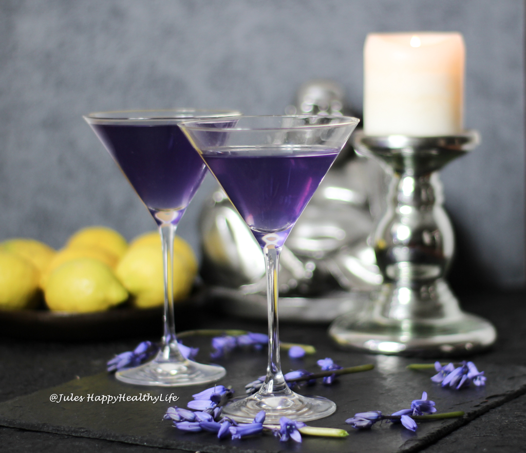 Lavender Vodka Cocktail with lavender health benefits