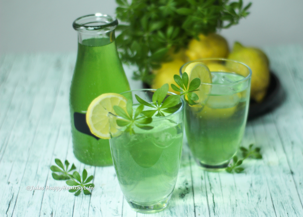 Woodruff Syrup for Lemonade vegan, gluten free recipe