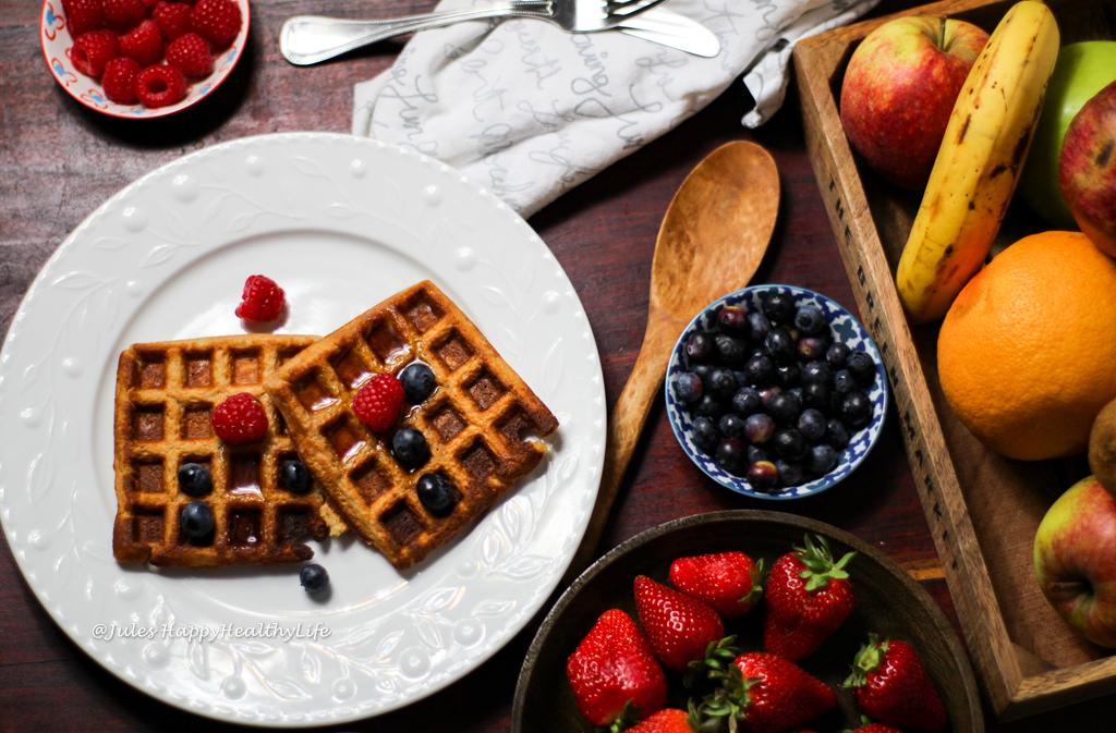 Rezept für glutenfreie Einfache Hafer Waffeln