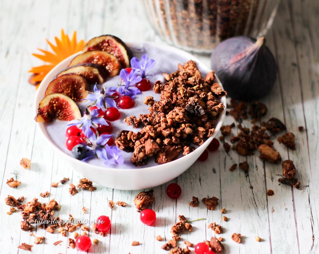 Gesundes Frühstück ohne raffinierten Zucker - Glutenfreies Schoko Granola
