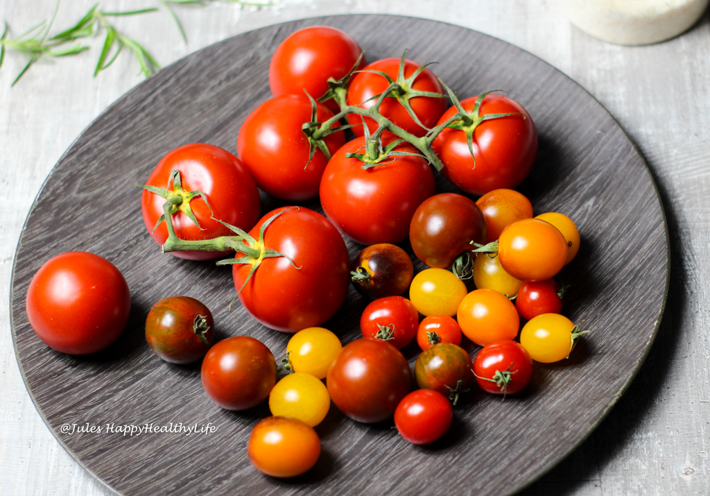 Tomatoes are extremely healthy because of their lycopen