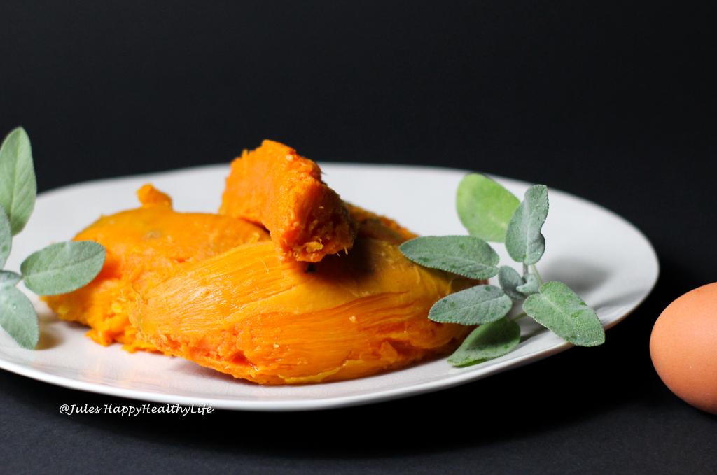 Sweet potato pulp for Sweet potato Gnocchi