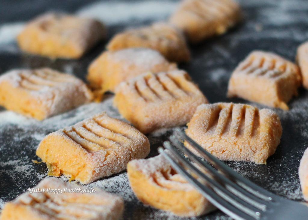 Sweet Potato Gnocchi in Sage Butter - Recipe is gluten free