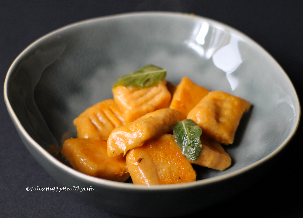 Main Course Pasta or working as a side dish - Sweet Potato Gnocchi with Sage Butter