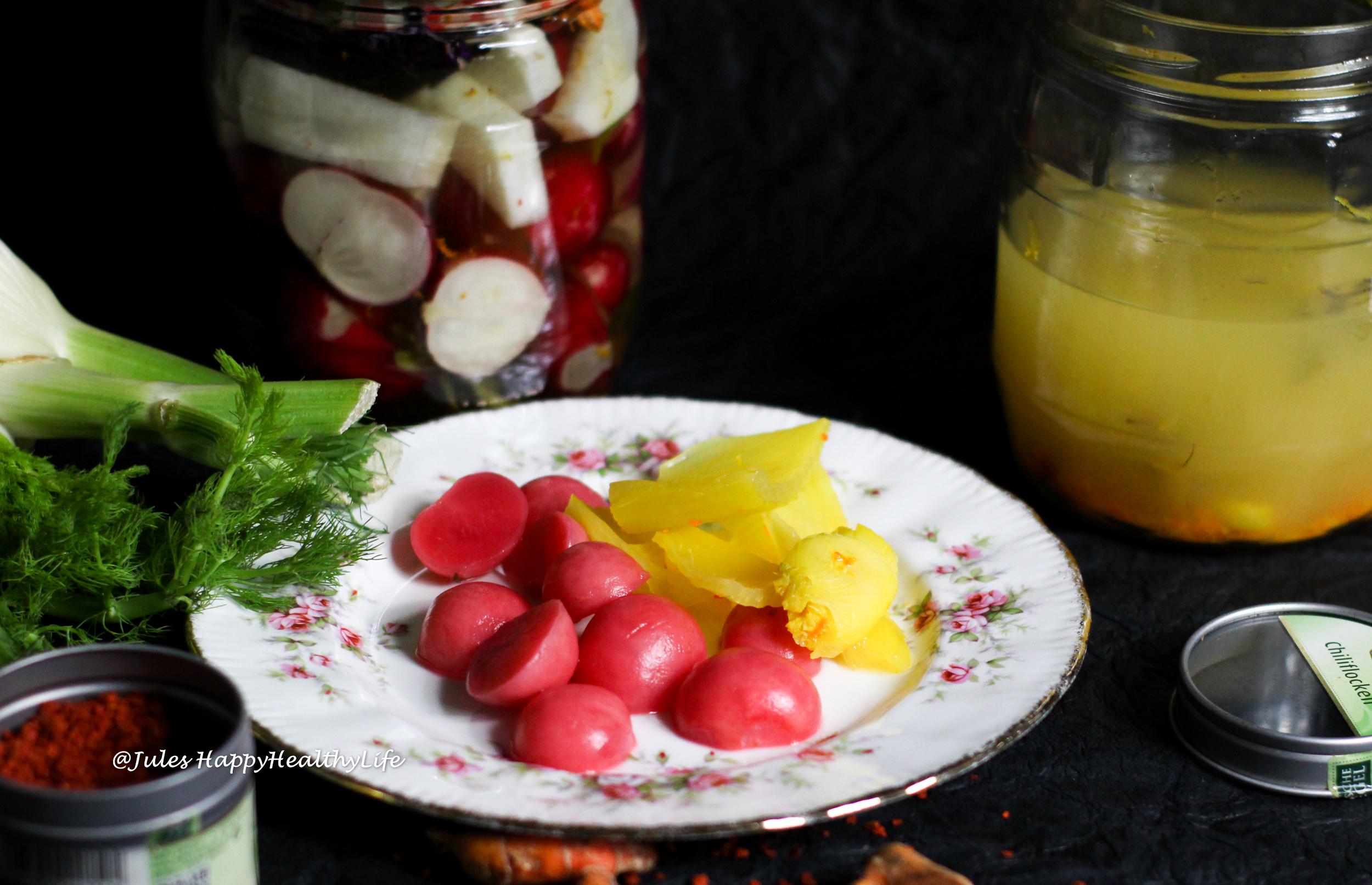 Einfaches Rezept zum Fermentieren von Gemüse
