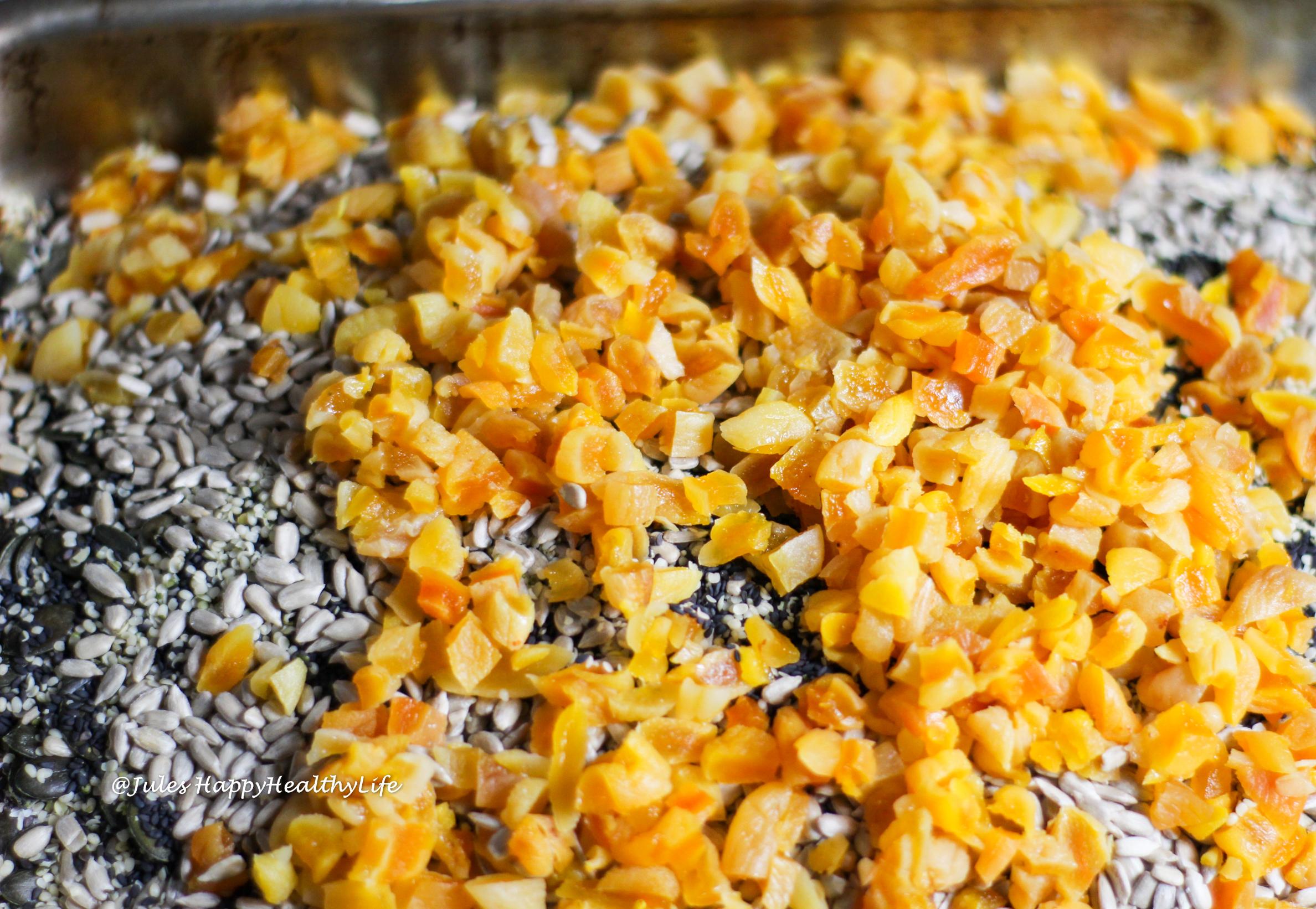 Aprikosen für das Health Angel Yoga Granola - Kurkuma Chai Granola