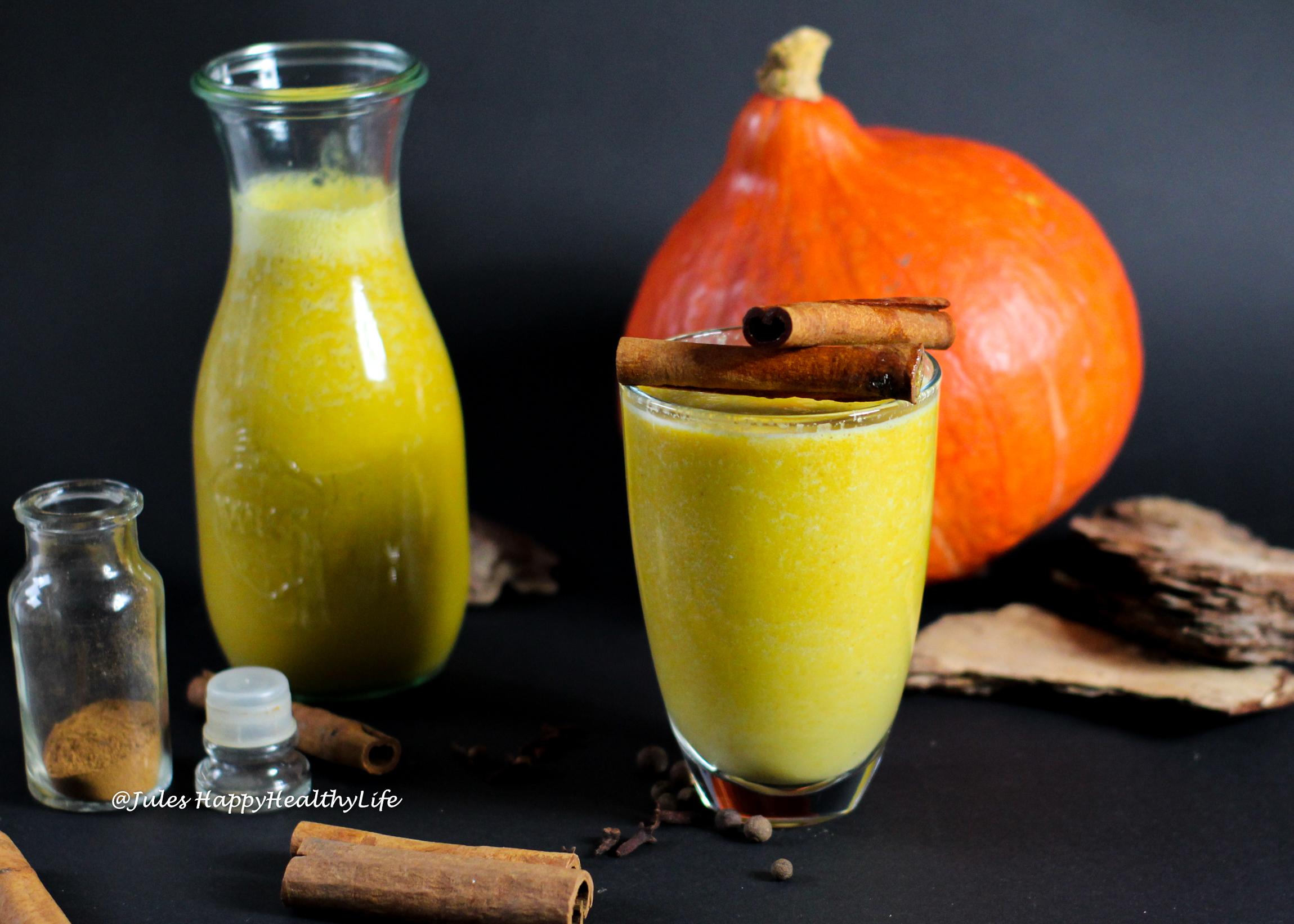 Fall Recipe - Pumpkin Almond Milk with Pumpkin Spice