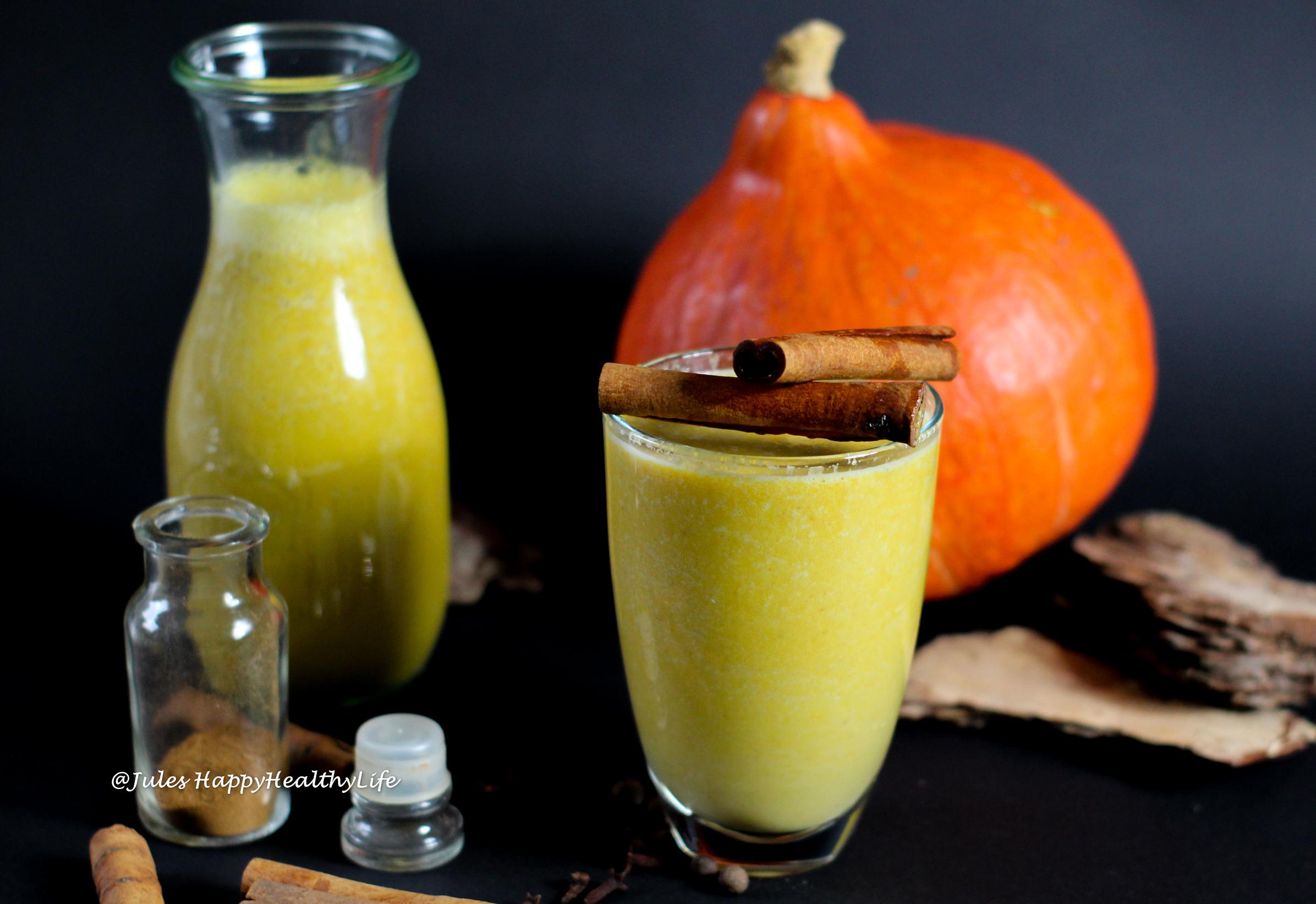 For homemade Pumpkin Spice Latte - Pumpkin Milk with Pumpkin Spice Latte