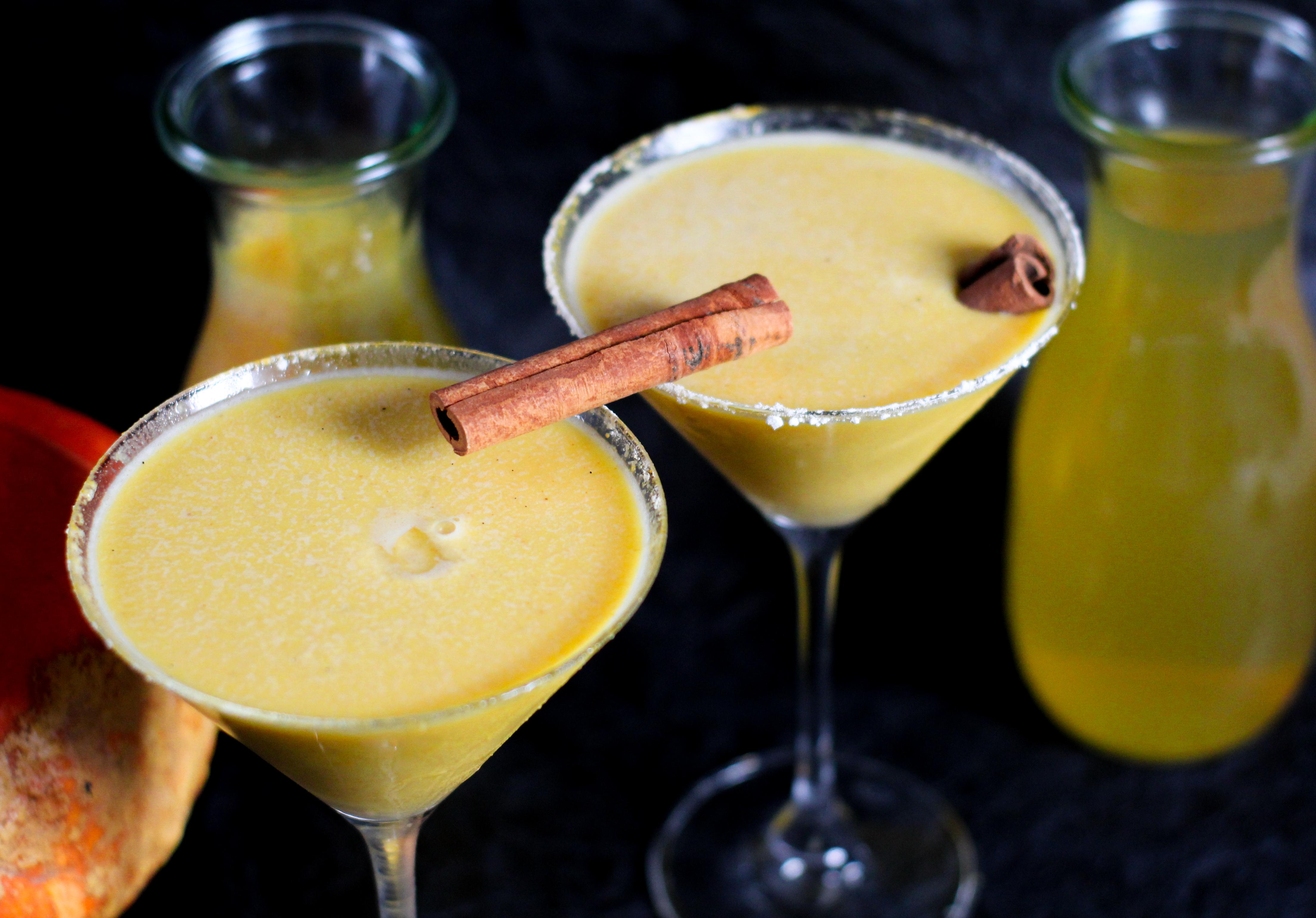 Kürbis Martini Rezept für eine Dinner mit Freunden im Herbst