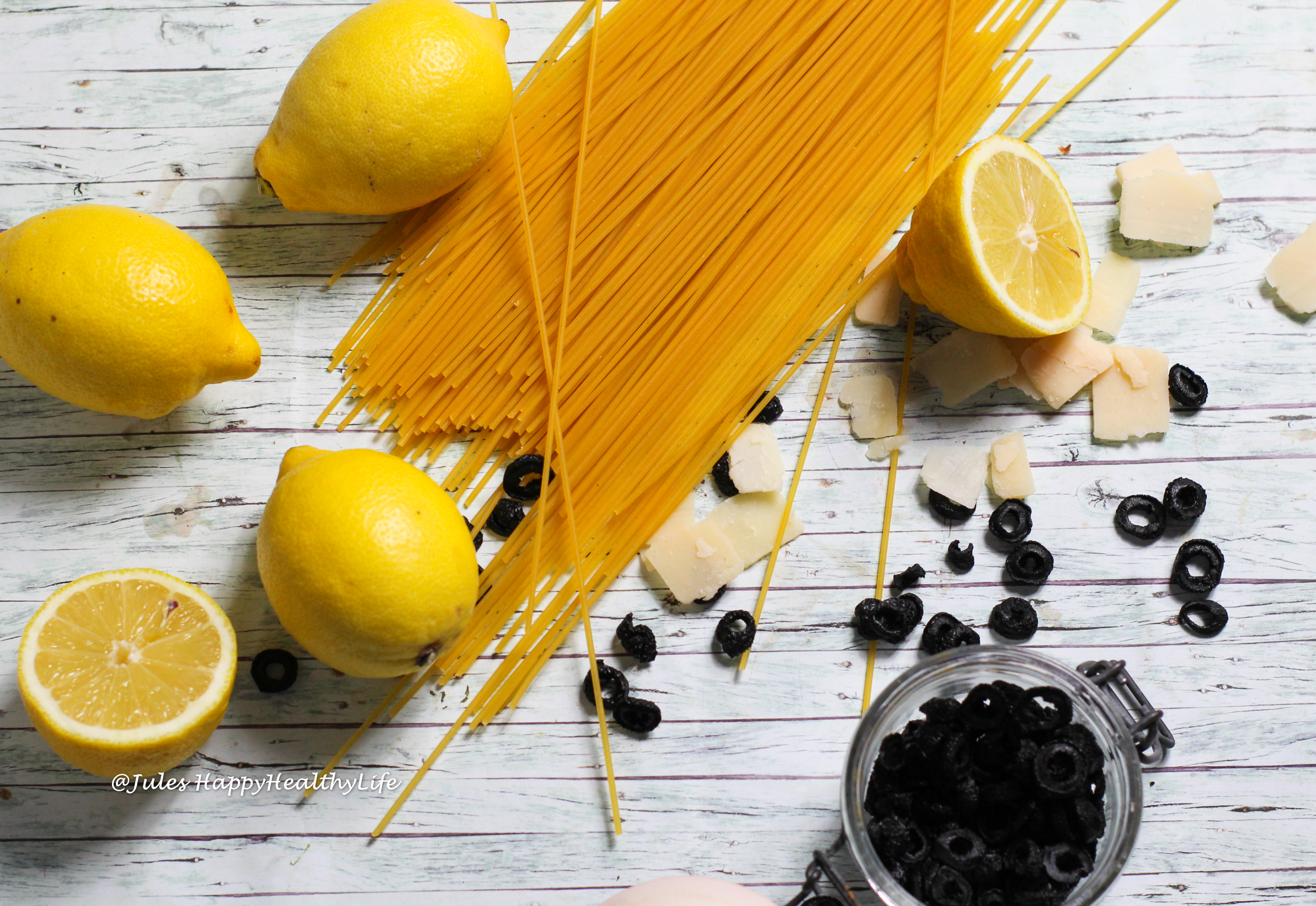 Easy ingredients for Spaghetti with Lemon Sauce